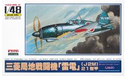 J2M3a Model 21a (Kou) Mitsubishi, Raiden - ARII A326 1/48