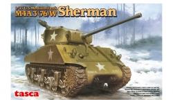 M4A3(76)W, Sherman - ASUKA 35-019 1/35