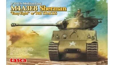 M4A3E8, Sherman, Easy Eight - ASUKA 35-020 1/35