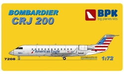 CRJ200 Bombardier - BPK 7208 1/72