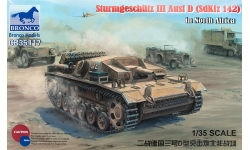 Sturmgeschütz III, Sd.Kfz. 142 Ausf. D, StuG III - BRONCO CB35117 1/35
