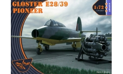 Gloster E.28/39, G.40, Pioneer - CLEAR PROP CP72001 1/72