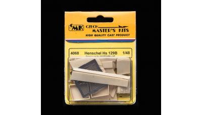 Hs 129B-1/2 Henschel. Конверсионный набор (HASEGAWA) - CMK 4068 1/48