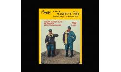 Фигурки летчиков-истребителей Люфтваффе - CMK F48018 1/48