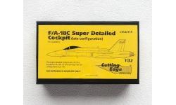 F/A-18C McDonnell Douglas, Hornet. Конверсионный набор (ACADEMY) - CUTTING EDGE CEC32115 1/32