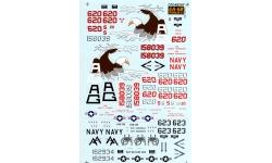 EA-6B Grumman, Prowler - CUTTING EDGE CED48207 1/48