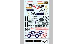F-8E/H Vought, Crusader - CUTTING EDGE CED48214 1/48