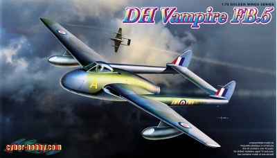 Vampire FB.Mk. 5 de Havilland - CYBER-HOBBY 5085 1/72