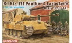 Panther, Panzerkampfwagen V, Sd.Kfz. 171, Ausf. A, MAN - DRAGON 6160 1/35