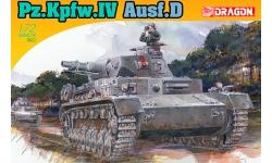 Panzerkampfwagen IV, Sd.Kfz.161, Ausf. D, Krupp - DRAGON 7530 1/72