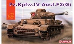 Panzerkampfwagen IV, Sd.Kfz.161/1, Ausf. F2/G, Krupp - DRAGON 7549 1/72