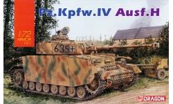Panzerkampfwagen IV, Sd.Kfz.161/2, Ausf. H, Krupp - DRAGON 7551 1/72