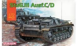 Sturmgeschütz III, Sd.Kfz. 142 Ausf. C/D, StuG III - DRAGON 7553 1/72