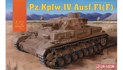 Panzerkampfwagen IV, Sd.Kfz.161, Ausf. F (F1), Krupp - DRAGON 7560 1/72