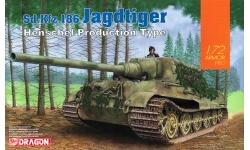 Panzerjäger Tiger, Sd. Kfz. 186, Ausf. B, Henschel, Jagdtiger - DRAGON 7563 1/72