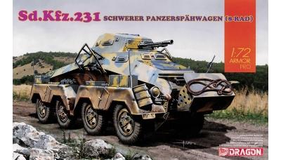 Schwerer Panzerspähwagen Sd.Kfz. 231 (8-Rad), Büssing-NAG - DRAGON 7577 1/72