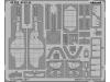 Фототравление для Ki-61-Id (Tei) Kawasaki, Hien (TAMIYA) - EDUARD 49822 1/48