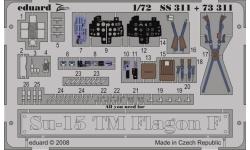 Фототравление для Су-15ТМ Сухой (TRUMPETER) - EDUARD 73311 1/72
