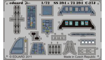 Фототравление для C-27J Alenia (Leonardo S.p.A.), Spartan (ITALERI) - EDUARD SS394 1/72