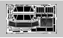 Фототравление для Merkava Mk. III MANTAK (ACADEMY) - EDUARD 35243 1/35