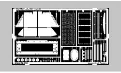 Фототравление для Т-34/85 (TAMIYA) - EDUARD 35335 1/35