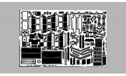 Фототравление для Me 410B-1 Messerschmitt, Hornisse (REVELL) - EDUARD 48243 1/48
