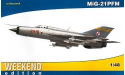МиГ-21ПФМ - EDUARD 84124 1/48