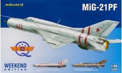 МиГ-21ПФ - EDUARD 84127 1/48