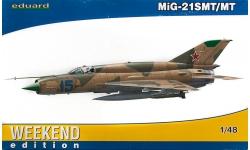 МиГ-21СМТ/МТ - EDUARD 84129 1/48