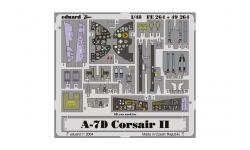 Фототравление для A-7D/E Ling-Temco-Vought, Corsair II (HASEGAWA) - EDUARD FE264 1/48