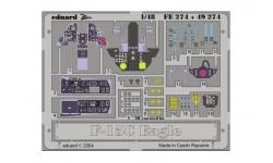 Фототравление для F-15C McDonnell Douglas, Eagle (HASEGAWA) - EDUARD FE274 1/48
