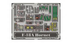 Фототравление для F/A-18A McDonnell Douglas, Hornet (HASEGAWA) - EDUARD FE293 1/48