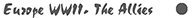 Европа WWII. Авиация стран антигитлеровского блока
