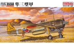Ki-43-IIIa (Kou) Nakajima, Hayabusa - FINE MOLDS FB3 1/48