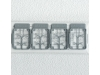 Ремни пристяжные самолетов ВВС ВМФ Императорской Японии 2 - FINE MOLDS NA5 Nano Aviation 1/72