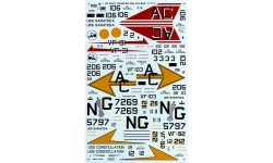F-4J McDonnell Douglas, Phantom II - FOX ONE DECALS FOD 48-009 1/48