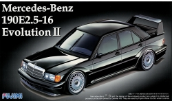 Mercedes-Benz 190E 2.5 16V Evolution II (W201) 1990 - FUJIMI 125718 RS-17 1/24