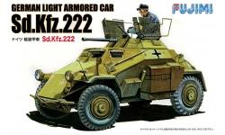 Leichter Panzerspähwagen Sd.Kfz.222, Eisenwerk Weserhütte - FUJIMI 761121 WA-19 1/76