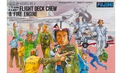 Экипаж и палубный персонал. ВВС ВМФ США - FUJIMI 35002 1/72