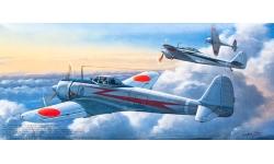 Ki-43-Ic (Hei) Nakajima, Hayabusa - FUJIMI 72029 C-2 1/72