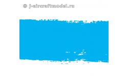 Краска MR.COLOR C323, голубая глянцевая, JASDF BLUE IMPULSE, 10 мл - MR.HOBBY
