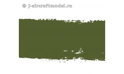 Краска MR.COLOR C512, зеленая матовая, СССР - цвет базовый, защитный 4БО, после 1947 г.,10 мл - MR.HOBBY