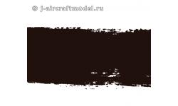 Краска MR.COLOR C92, черная полуматовая, основная, 10 мл - MR.HOBBY