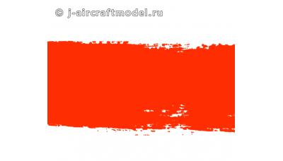 Краска MR.HOBBY H14 водоразбавляемая, оранжевая глянцевая, основная, 10 мл