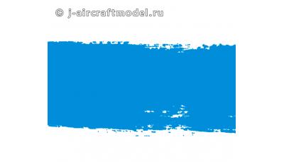 Краска MR.HOBBY H25 водоразбавляемая, голубая глянцевая, основная, 10 мл