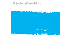 Краска MR.HOBBY H323 водоразбавляемая, голубая глянцевая, JASDF BLUE IMPULSE, 10 мл