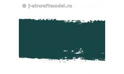 Краска MR.HOBBY H330 водоразбавляемая, темно-зеленая полуматовая, RAF HARRIER и т.д., 10 мл