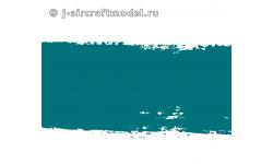 Краска MR.HOBBY H337 водоразбавляемая, цвета морской волны, полуматовая, ВВС ВМФ США, 10 мл