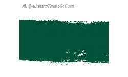 Краска MR.HOBBY H340 водоразбавляемая, зеленая полуматовая, US MARINES - COBRA и т.д., 10 мл