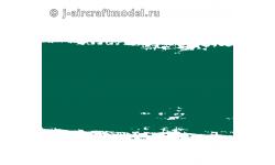 Краска MR.HOBBY H423 водоразбавляемая, темно-зеленая полуматовая, Люфтваффе RLM83, 10 мл